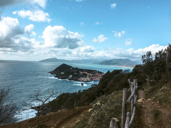 Punta Manara passeggiata Sestri Levante Liguria Passione Passaporto