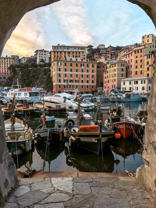 Camogli Liguria scorcio Passione Passaporto