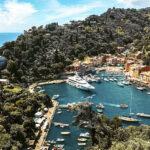 Vista dal Castello Brown Portofino Liguria Italia Passione Passaporto