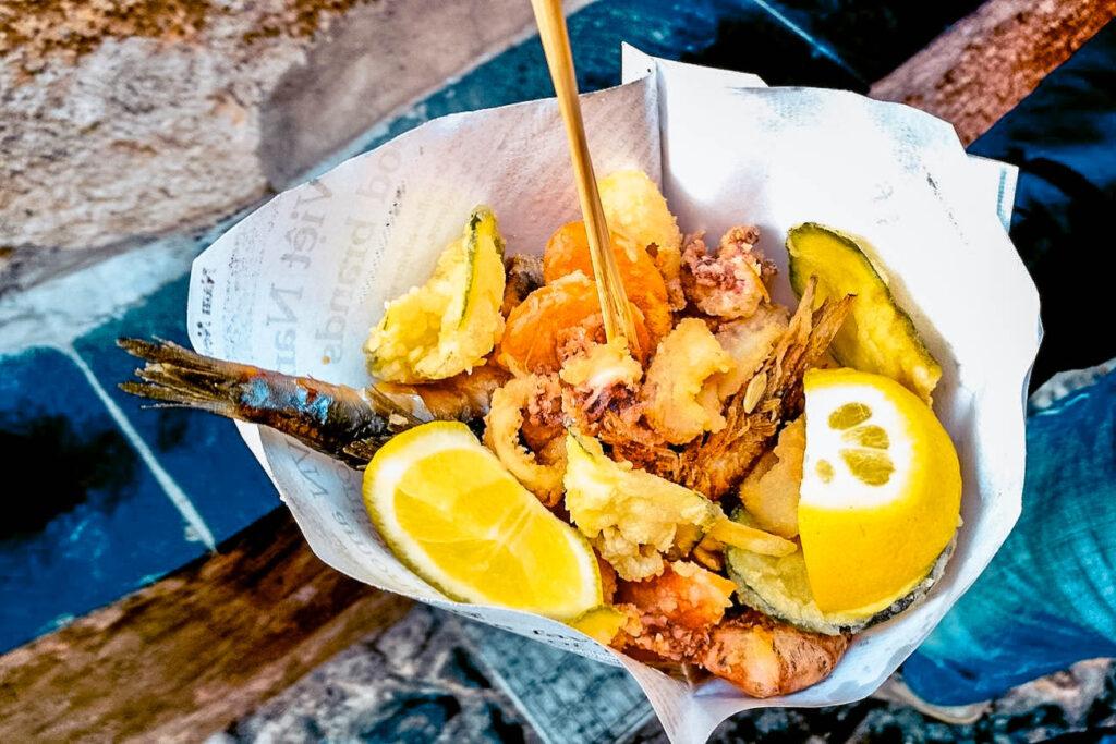 dove mangiare a Genova vista mare Liguria Italia Boccadasse Ittiturismo Passione Passaporto