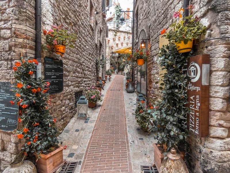 Cosa vedere ad assisi centro storico Umbria Assisi Italia Passione Passaporto