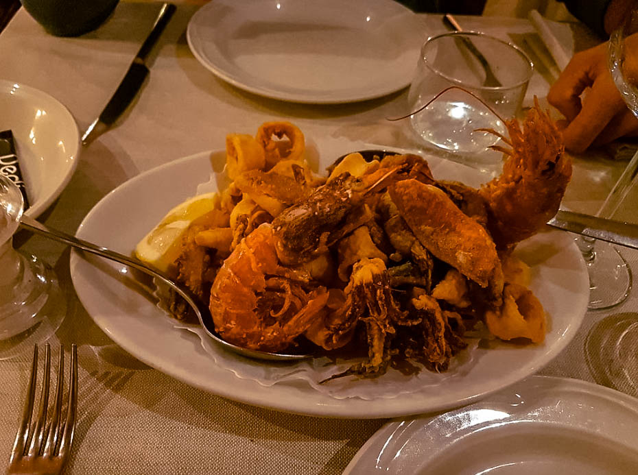 Dove mangiare a Genova sul mare Da Olindo Genova nervi Italia passione passaporto