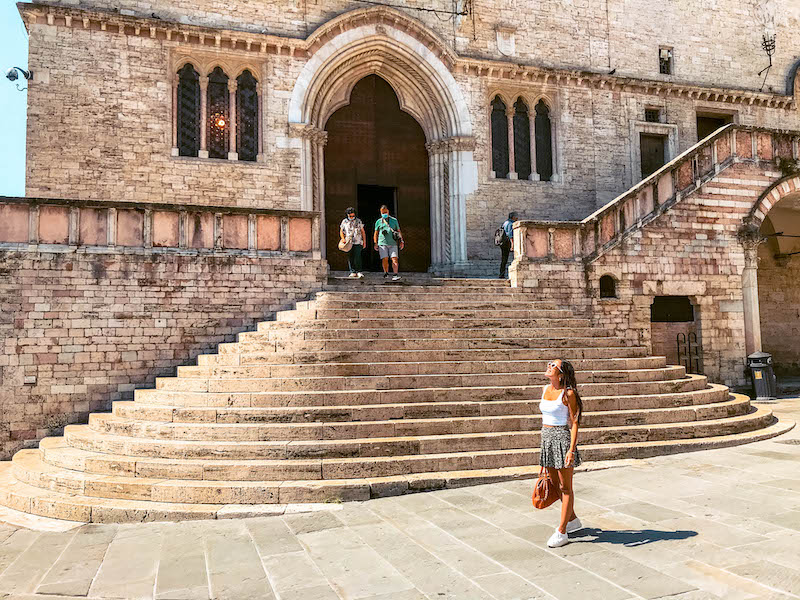 Piazza IV Novembre Cosa vedere a Perugia Umbria Italia Passione Passaporto