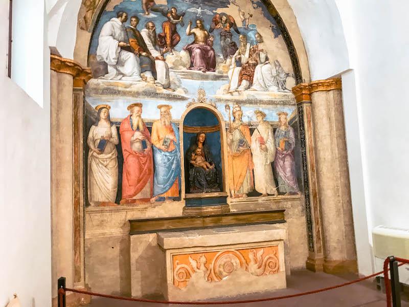 Cosa fare a Perugia Cappella di San Severo Cosa vedere a Perugia Umbria Italia Passione Passaporto