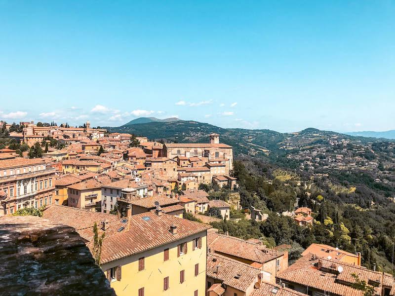 Cosa vedere a Perugia Porta Sole vista panoramica di Perugia Umbria Italia Passione Passaporto