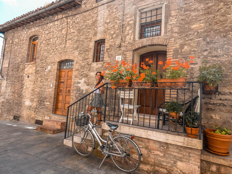 Cosa vedere in Umbria cosa vedere a Gubbio Centro storico di Gubbio Umbria Italia Passione Passaporto
