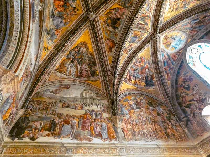 Cosa vedere in Umbria Duomo di Orvieto centro storico di Orvieto Umbria Passione Passaporto