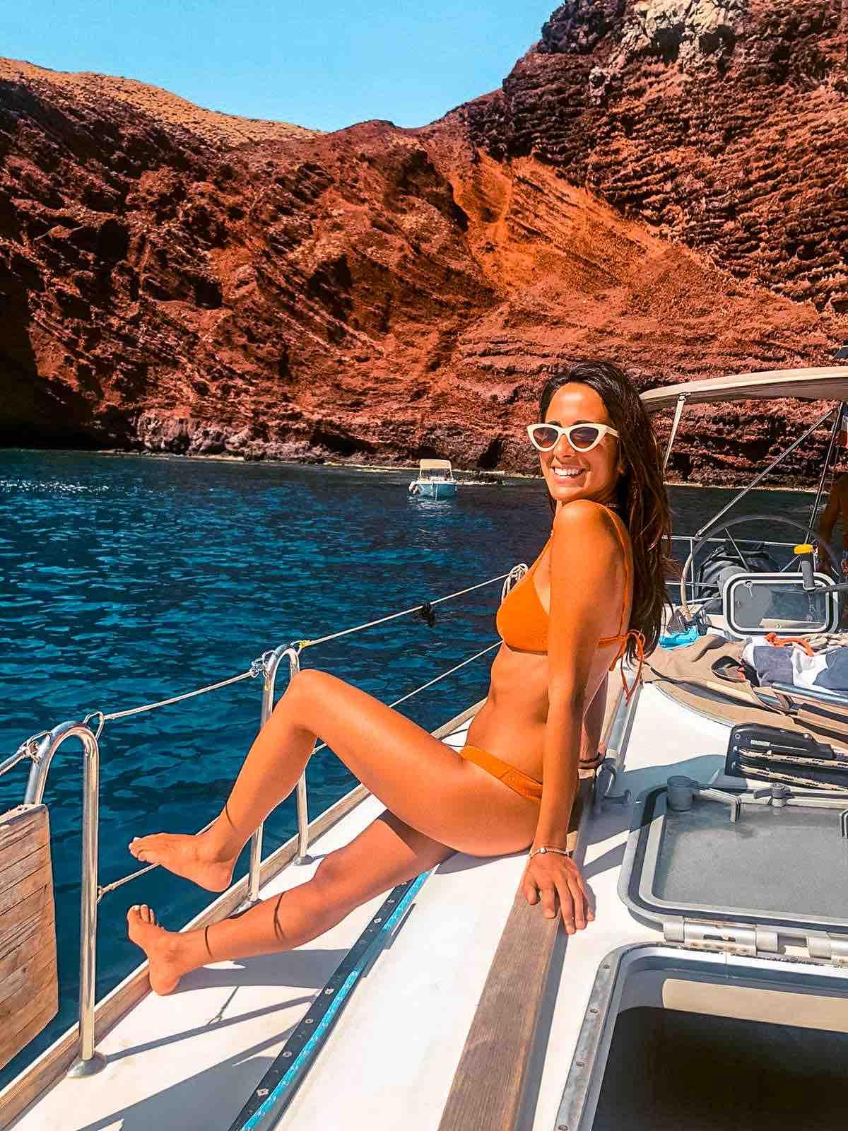 Capraia Cala rossa Isola di Capraia Arcipelago toscano Toscana Italia Passione Passaporto