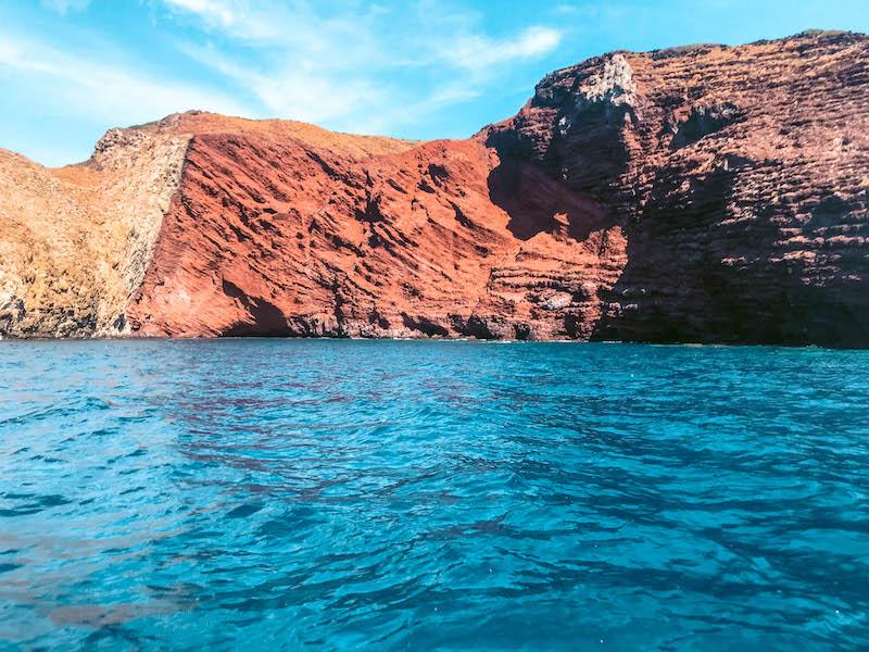 Cala Rossa Isola di Capraia arcipelago toscano Capraia Calette Capraia Toscana Italia Passione Passaporto
