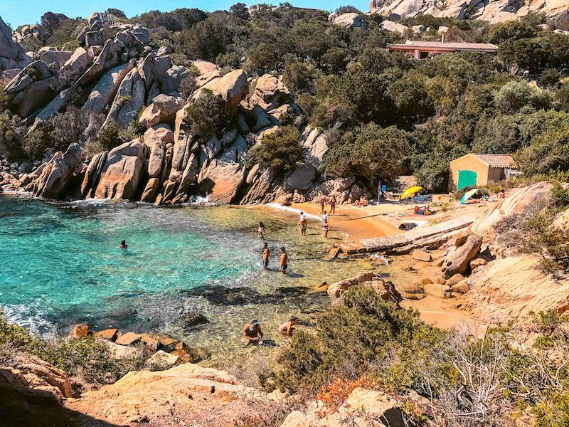 Cala Martinella calette Costa Smeralda Sardegna Italia Passione Passaporto