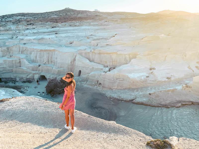 Sarakiniko Spiaggia Le più belle spiagge di milos Grecia Passione Passaporto
