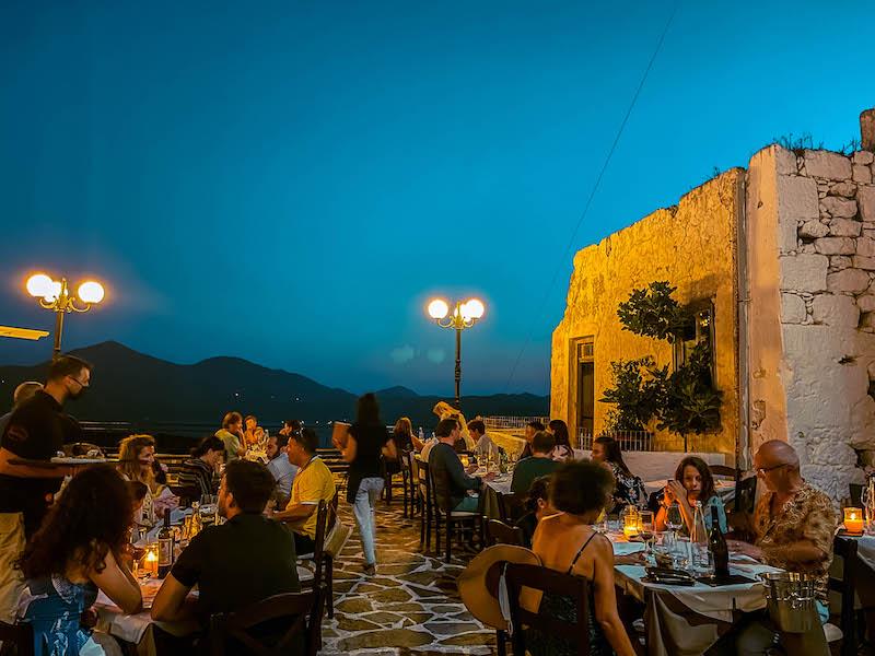 Cena Milos Tripiti Plaka dove mangiare a milos Grecia Passione Passaporto