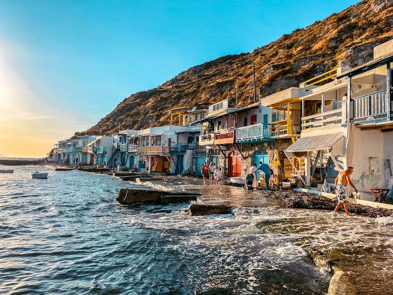 Klima Milos Syrmata Villaggi dei pescatori Grecia Passione Passaporto