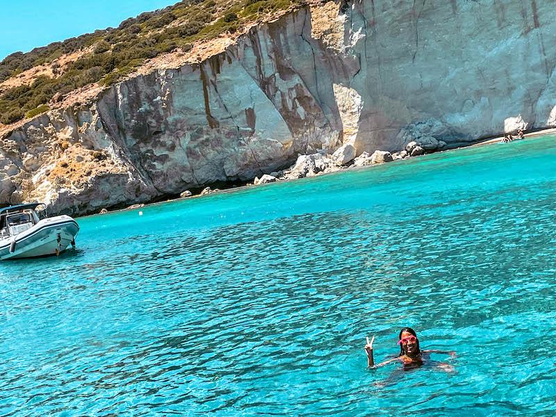 Baia di Kleftiko Milos Grecia Passione Passaporto