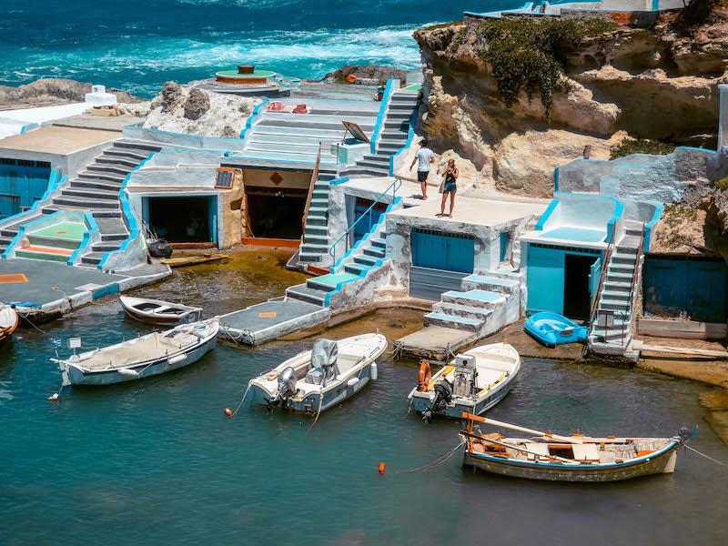 Mandrakia Milos Spiaggia Grecia Passione Passaporto