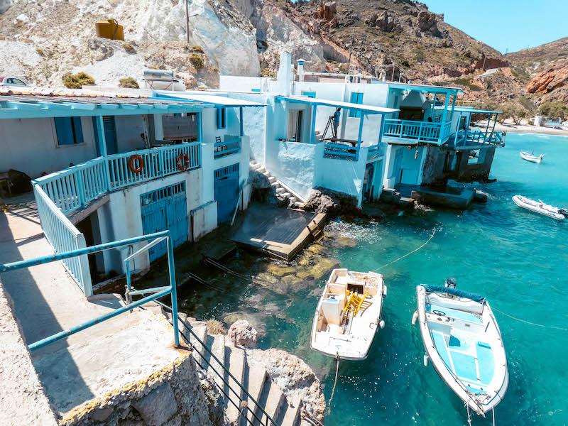 Cosa vedere a Milos Villaggi di pescatori Firopotamos Milos Grecia Passione Passaporto