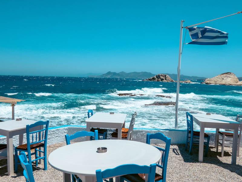 Ristorante Medusa Mandrakia Dove mangiare a Milos Grecia Passione Passaporto