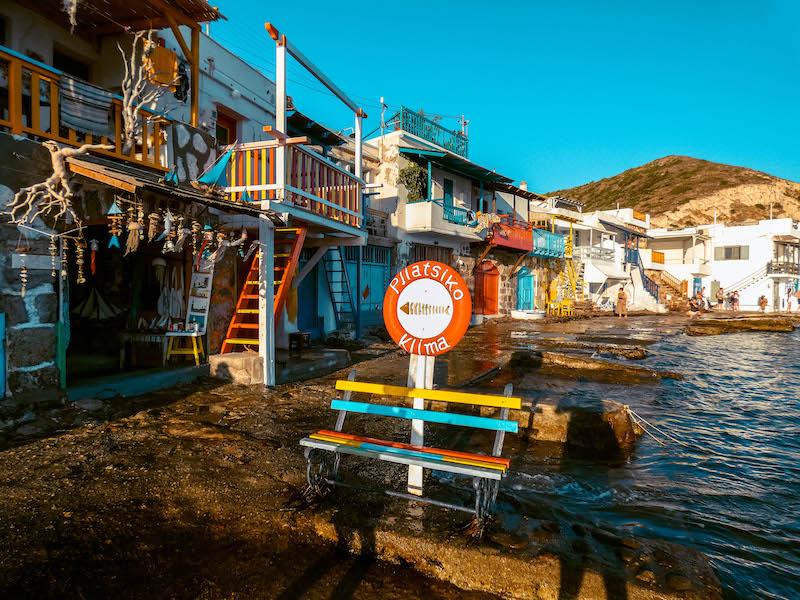 Cosa vedere a Milos Villaggi di pescatori Klima Milos Grecia Passione Passaporto