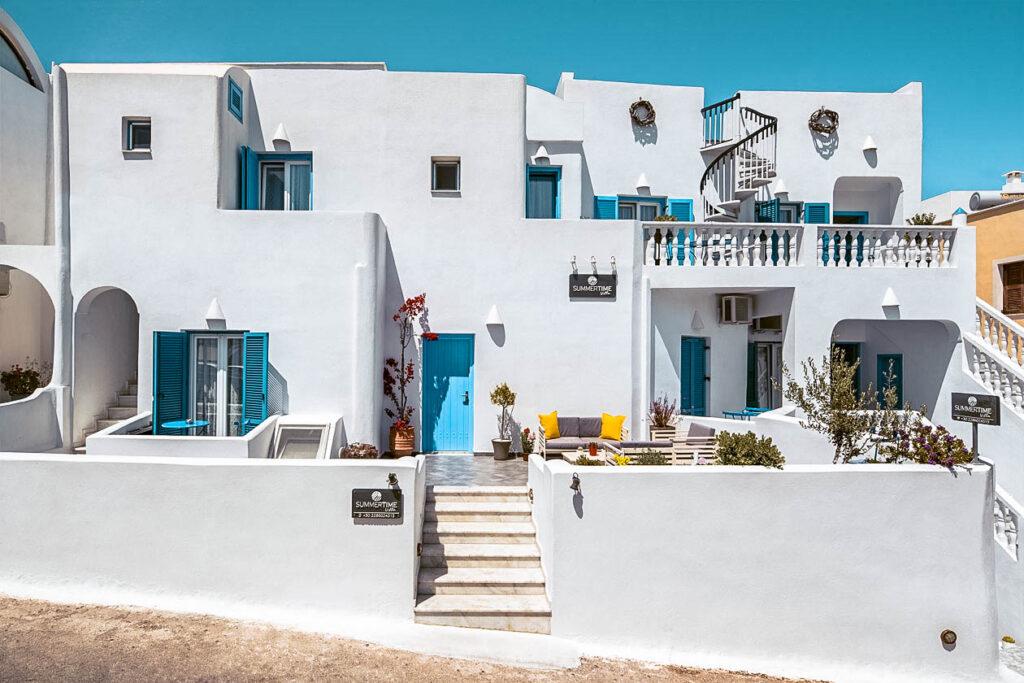 Summer Time Villa Dove dormire a Santorini Dove dormire a Fira Grecia Passione Passaporto