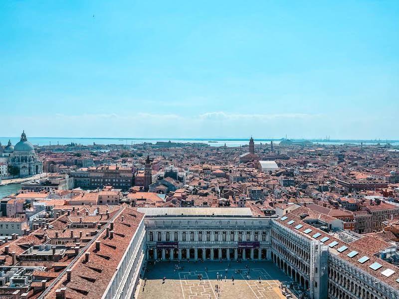Campanile di San Marco vista campanile di San Marco Piazza San Marco Venezia Italia Passione Passaporto