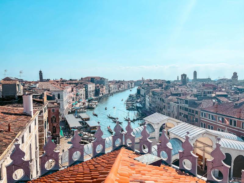Fondaco dei Tedeschi Cosa vedere a Venezia Terrazza Fondaco Venezia Italia Passione Passaporto