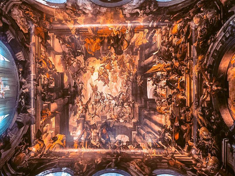 Chiesa di San Pantalon Soffito San Pantalon Cosa vedere a Venezia Italia Passione Passaporto